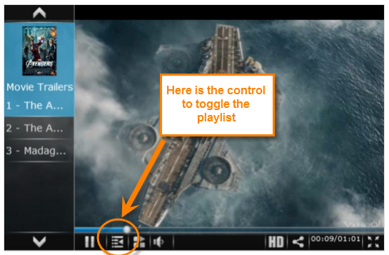Video Player guide